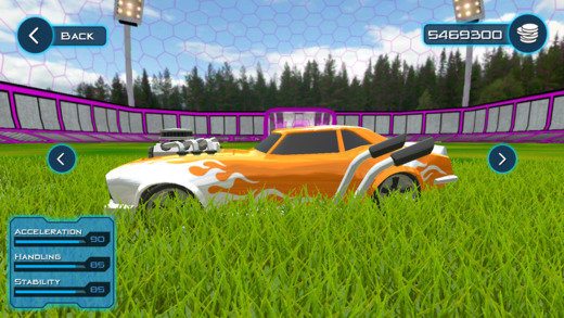 Super Rocket Ball:Soccer League Online Multiplayer Screenshot