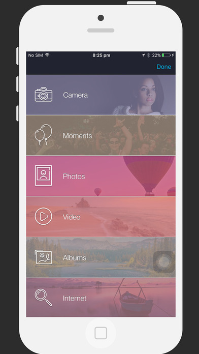 Slideshow Mobile- with Picture & Video Apps for iPhone/iPad screenshot