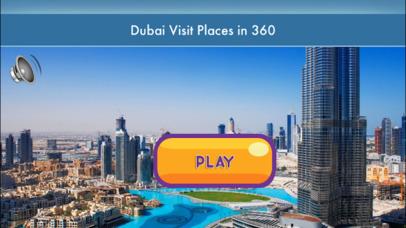 VR Dubai Visit Places 3D : دبي زيارة الأماكن screenshot 1