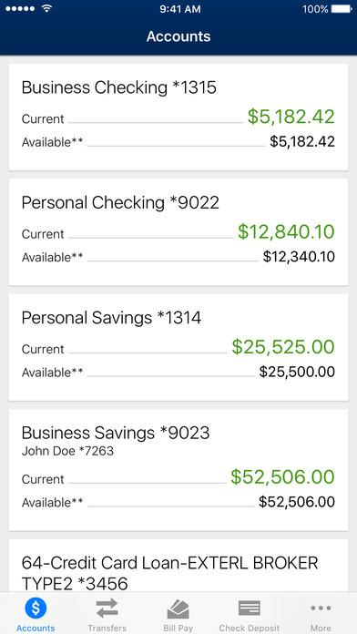 BancFirst Mobile Banking screenshot 1