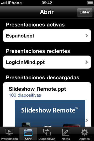 Slideshow Remote®  for PowerPoint screenshot 2