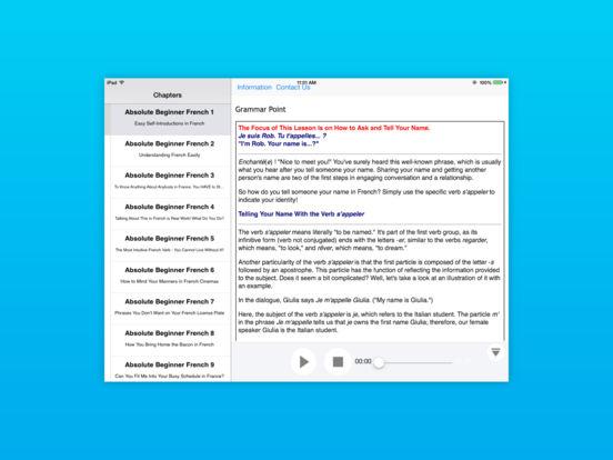 Italian Lower Intermediate for iPad iPad Screenshot 4