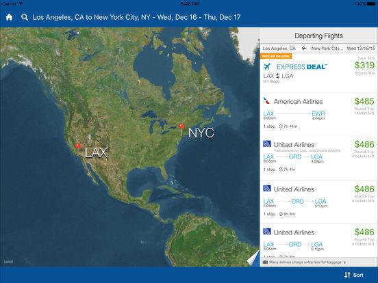 priceline Hotel & Car Negotiator iPad Screenshot 4