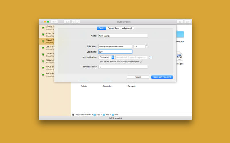 SSH Copy Screenshots