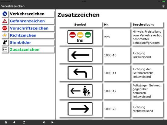 Verkehrszeichen DE iPad Screenshot 5