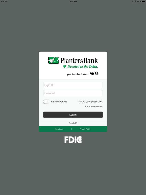 iPad Screenshot 1. iPad Screenshot 2. Planters Bank Mobile - Planters Bank Mobile On The App Store