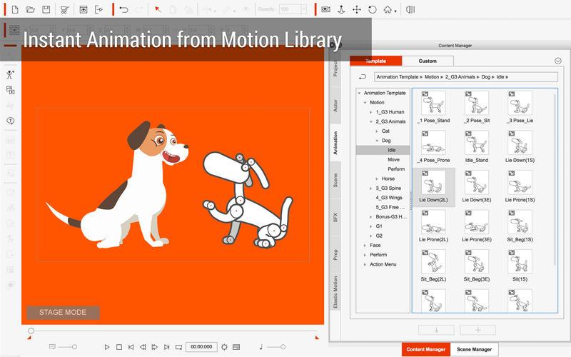 CrazyTalk Animator 3 for Mac 3.22.2426.1 破解版 – 二维动画软件-麦氪派