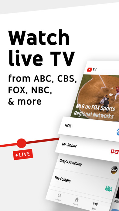 YouTube TV - Watch & DVR Live Sports, Shows & Newsのおすすめ画像1
