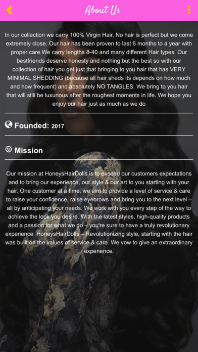 Honeyshairdolls screenshot 2