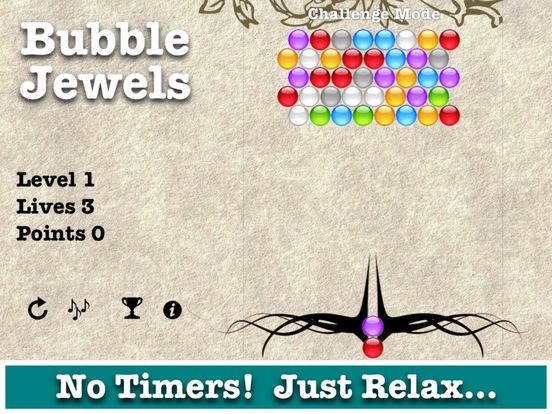 Bubble Jewels iPad Screenshot 3