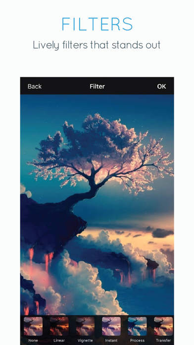 Photo Editor Effects : Filters for Picture Apps free for iPhone/iPad screenshot