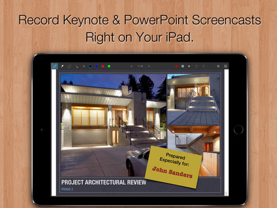 Slidecast - Record PowerPoint and Keynote Videos on your iPad or iPhone Image