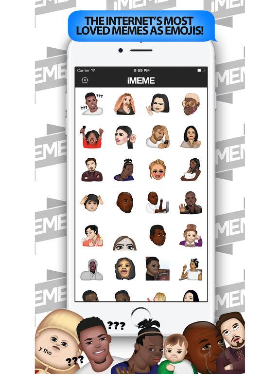 iMeme - Your Moji Meme Keyboard screenshot 6
