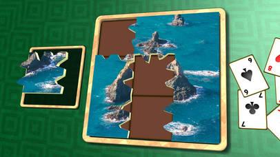 Jigsaw Solitaire New Zealand screenshot 1