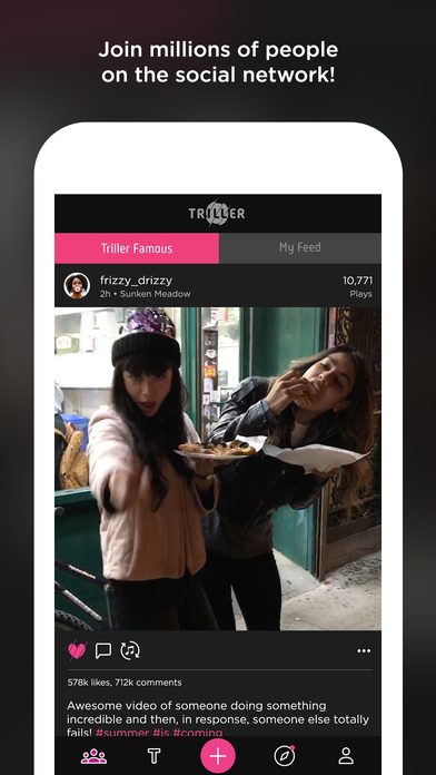 Triller Video: Music, Filters & Moments screenshot 2