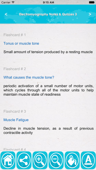 Electromyography (EMG) Exam Review & Test Bank App screenshot 2