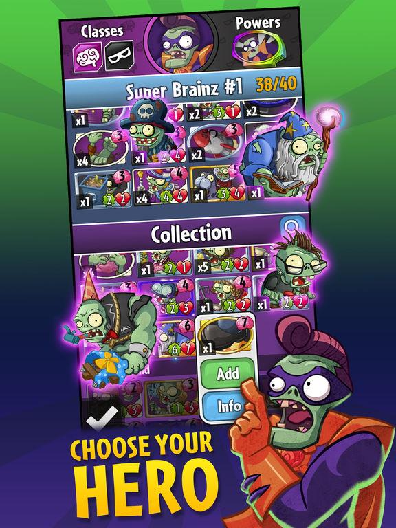 Plants vs. Zombies™ Heroesscreeshot 2