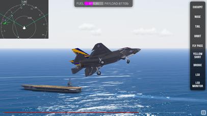 F35 Carrier Landing HD screenshot 3