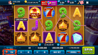 Screenshot 1 Fortune in Vegas — Jackpots Slot Machine