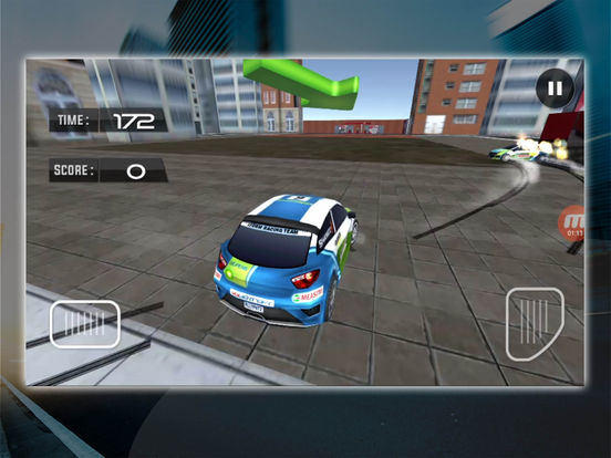 Flag Catcher Car Racing screenshot 8