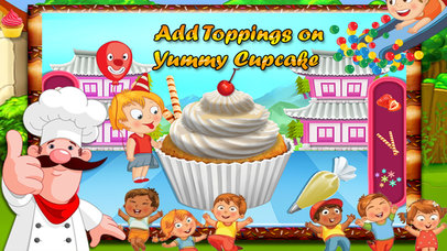 Kids Cup Cake Maker screenshot 5