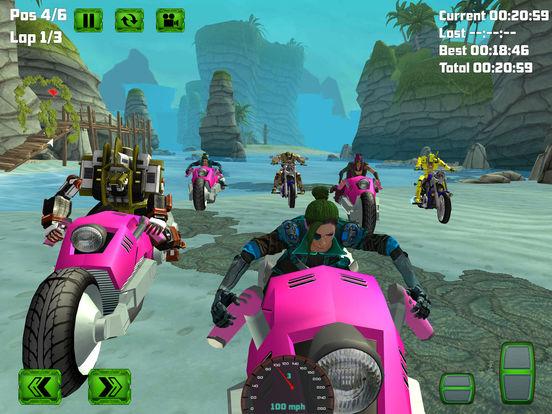 Water Surfing Bike Race screenshot 8
