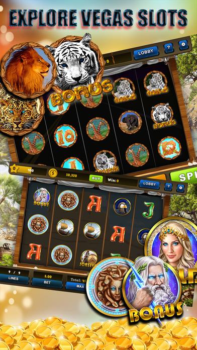 Screenshot 1 Lucky Vegas Slots House