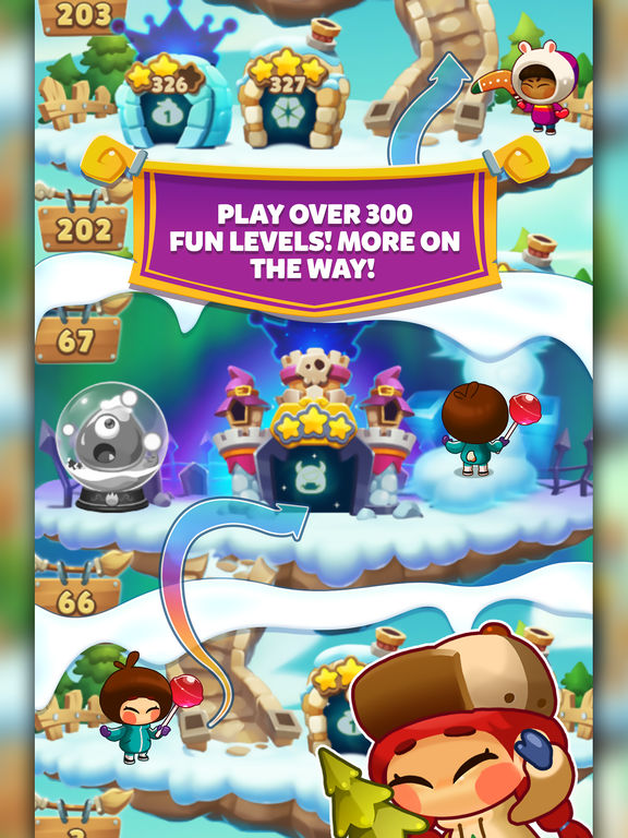Monster Busters: Ice Slide screenshot 9