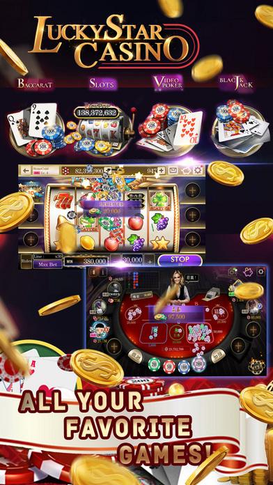 Screenshot 3 Lucky Star Casino–Vegas Slot Machines &Poker Games