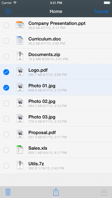 File Transfer - Exchange files between devices Screenshots