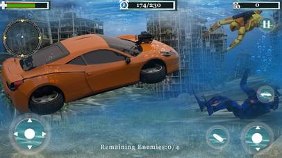 Underwater Robot Car Transformation screenshot 1