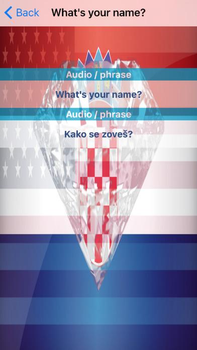 Croatian Phrases Diamond 4K Edition screenshot 3