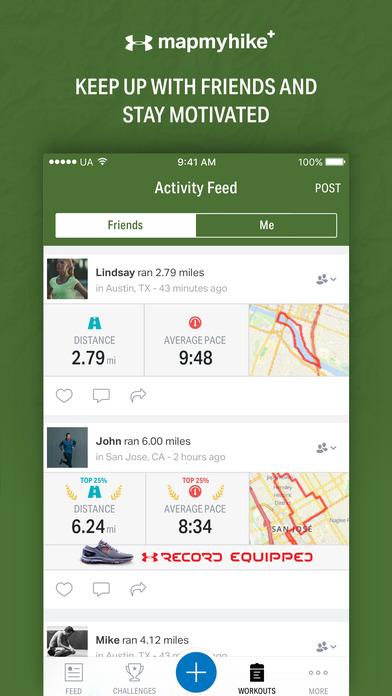 Map My Hike+ - GPS Hiking Tracker & Trail Finder Screenshots