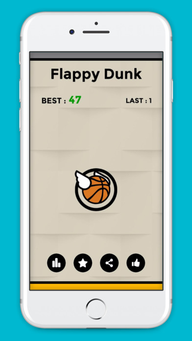 Flappy Dunk screenshot 1