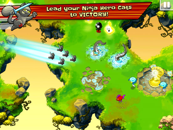 Ninja Hero Cats screenshot 7