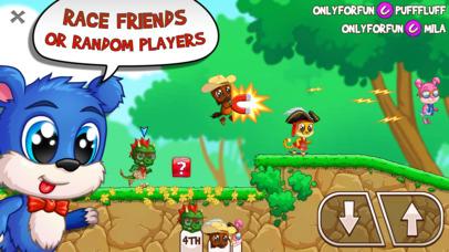 Fun Run Arena - 网上多玩家跑步游戏