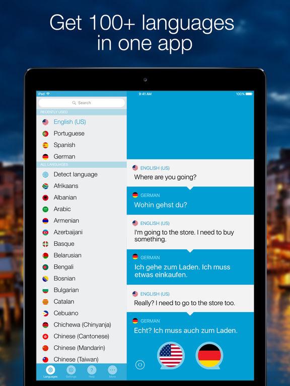 Screenshot #5 for Speak & Translate - Voice and Text Translator
