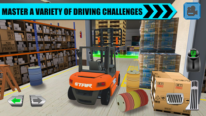 Truck Driver: Depot Parking Simulator Screenshot 2