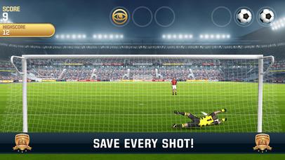 Screenshots of Flick Kick Goalkeeper for iPhone