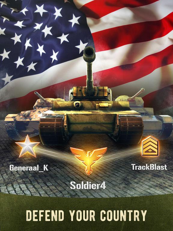 War Machines: 3D Multiplayer Tank Shooting Gamescreeshot 2