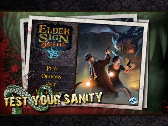 Elder Sign: Omens for iPad Screenshot