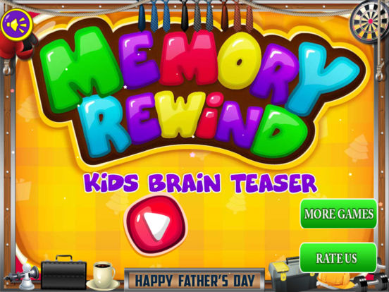 Memory Rewind - Kids Brain Teaser Pro Screenshots
