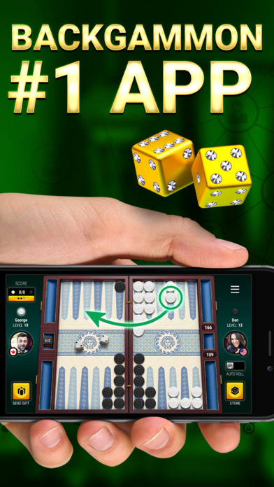 App Shopper: Backgammon Live: Play Backgammon Online Board ...