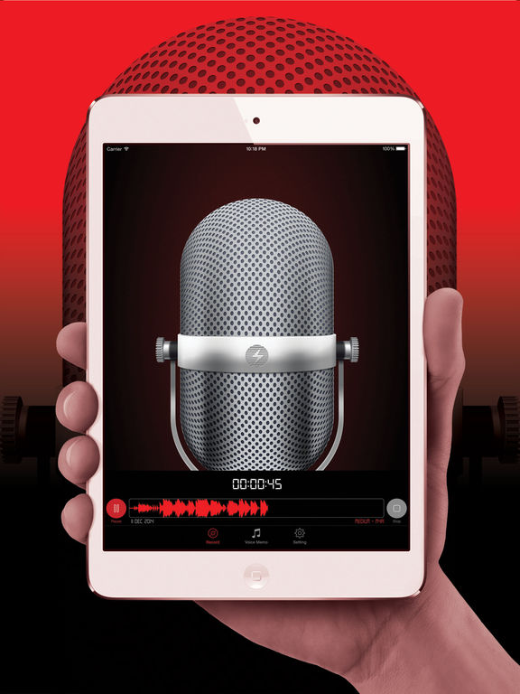 HD Audio Recorder Pro : Voice Recording & Playback Screenshots