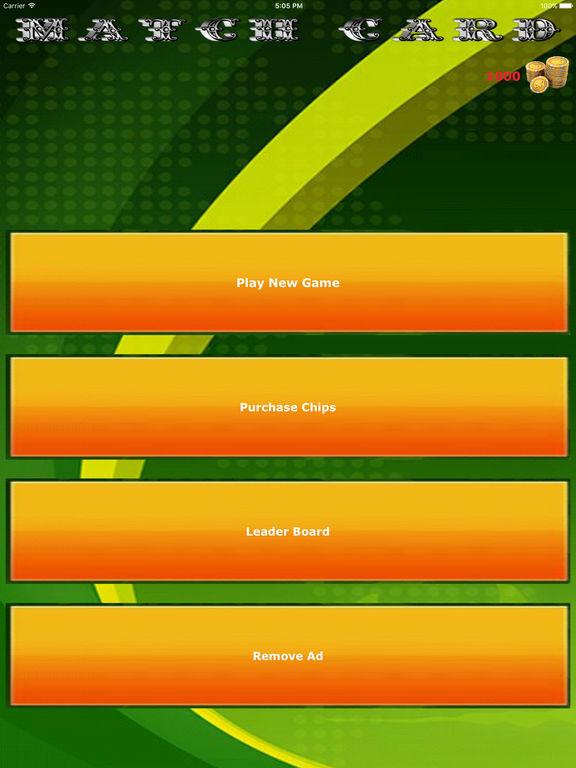 Match Card : Game screenshot 4