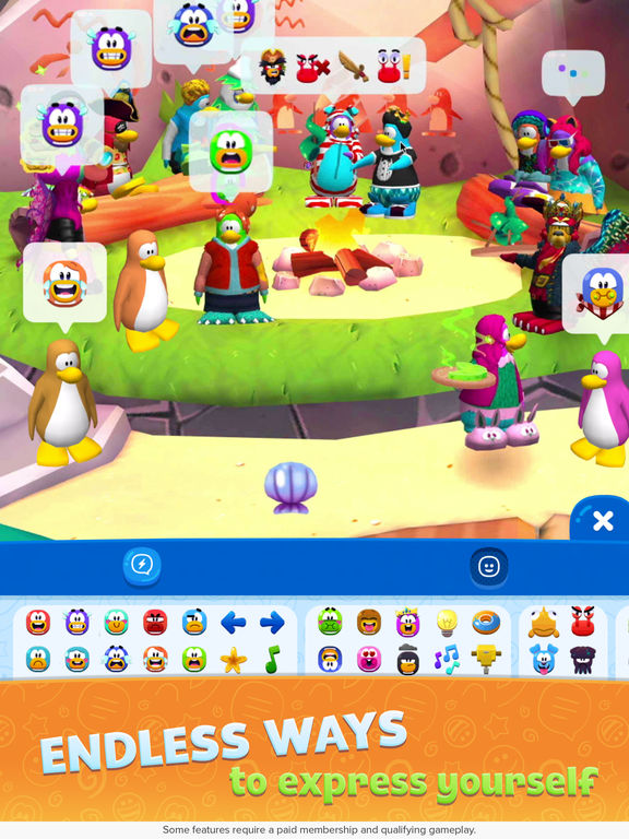 Club Penguin Island Screenshots