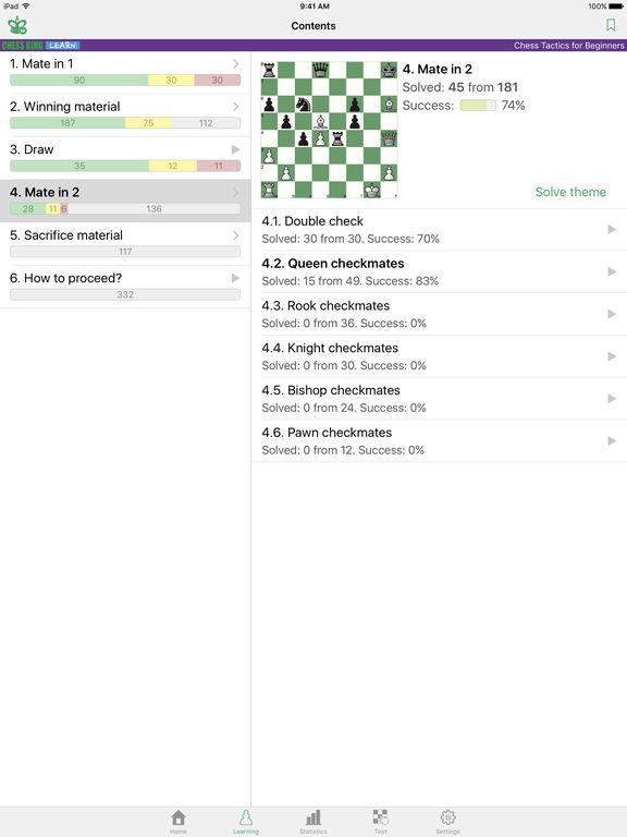 Chess Tactics for Beginnersscreeshot 3