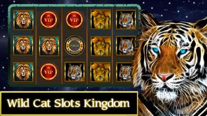 Screenshot 1 Wild Cat Slots Kingdom — Jackpot Casino