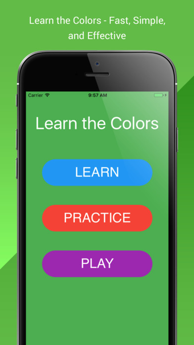 Learning Colors - Kids & Toddlers Educational Game screenshot 1