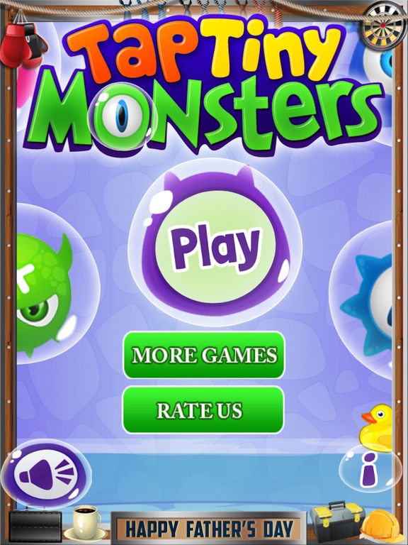 Tap Tiny Monsters Pro Screenshots